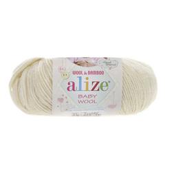 Пряжа Alize Baby Wool 001