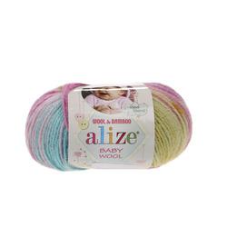 Пряжа Alize Baby Wool Batik 6550