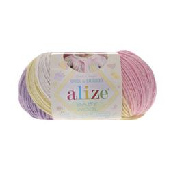 Пряжа Alize Baby Wool Batik 4006