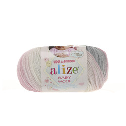 Пряжа Alize Baby Wool Batik 3245