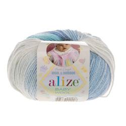 Пряжа Alize Baby Wool Batik 3564