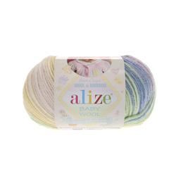 Пряжа Alize Baby Wool Batik 4004