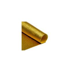 Игрушка MAGIC HOBBY Фоамиран глиттерный Magic 4 Hobby 2 мм цв.золото, 20х30 см