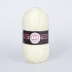 Пряжа Madame Tricote Paris Tango 005 цв. Молочный