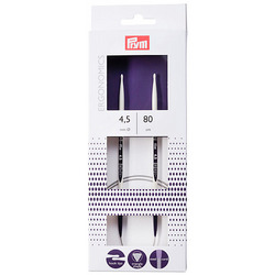 Спицы Prym круговые Prym ergonomics 80 см, 4,5мм high-tech полимер
