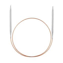 Спицы Addi Круговые супергладкие никелевые 5.5 мм / 30 см