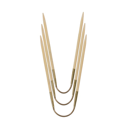 Спицы Addi чулочные гибкие CraSyTrio бамбуковые 2.75 мм / 24 см