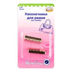 Аксессуары Hemline Наконечники для ремня,30 мм