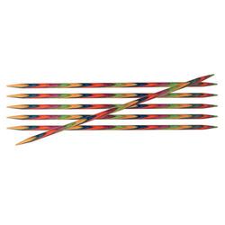 Спицы Knit Pro чулочные Symfonie 3,25 мм/15 см, дерево, многоцветный, 6шт