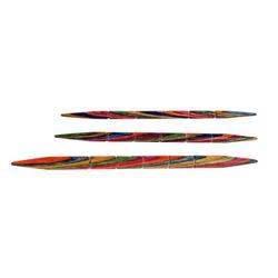 Спицы Knit Pro вспомогательные для кос 3,25 мм/80 мм, 4 мм/85 мм, 5,5 мм/105 мм, дерево, 3шт