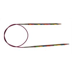 Спицы Knit Pro круговые Symfonie 8 мм/80 см, дерево, многоцветный