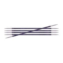 Спицы Knit Pro чулочные Royale 3 мм /20 см, ламинированная береза, фиолетовый, 5шт