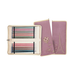 Набор Knit Pro Набор прямых спиц Royale 30 см ламинированная береза, 8 видов спиц 3,5 мм, 4 мм, 4,5 мм, 5 мм, 5,5 мм, 6 мм, 7 мм, 8 мм