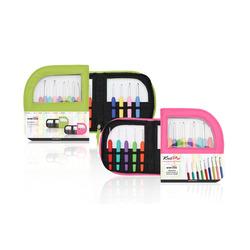 Набор Knit Pro Набор крючков для вязания 'Waves' алюминий/пластик, 9 видов крючков в наборе