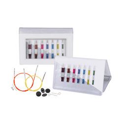 Набор Knit Pro Набор 'Deluxe Set Special IC' съемных спиц SmartStix (3 мм, 3,5 мм, 4 мм, 4,5 мм, 5 мм, 5,5 мм, 6 мм), алюминий, 8 видов спиц