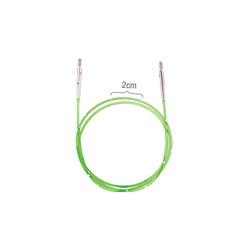 Аксессуары Knit Pro Тросик для съемных спиц SmartStix, длина 126 см (готовая длина спиц 150 см), неоновый зеленый