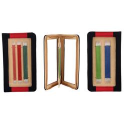 Набор Knit Pro Набор чулочных спиц 15 см 'Zing' (2 мм, 2,5 мм, 3 мм, 3,5 мм, 4 мм), алюминий, 5 видов спиц