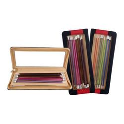 Набор Knit Pro Набор прямых спиц длиной 25 см 'Zing' (2,5 мм, 3 мм, 3,5 мм, 4 мм, 4,5 мм, 5 мм, 5,5 мм, 6 мм), алюминий, 8 видов