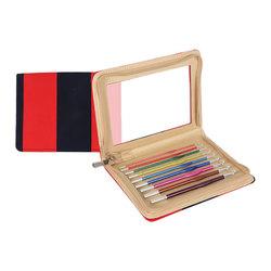 Набор Knit Pro Набор крючков для вязания 'Zing' (крючки - 2 мм, 2,5 мм, 3 мм, 3,5 мм, 4 мм, 4,5 мм, 5 мм, 5,5 мм, 6 мм) алюминий