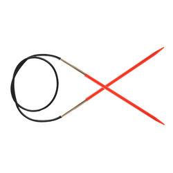 Спицы Knit Pro круговые Trendz 3,5 мм/100 см акрил, красный