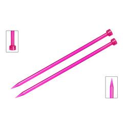 Спицы Knit Pro прямые Trendz 8 мм/30 см, акрил, пурпурный, 2шт