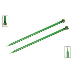 Спицы Knit Pro прямые Trendz 9 мм/30 см, акрил, зеленый, 2шт