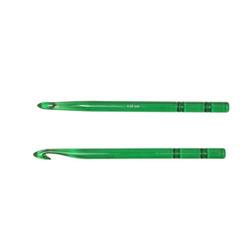 Крючок Knit Pro для вязания Trendz 9 мм, акрил, зеленый