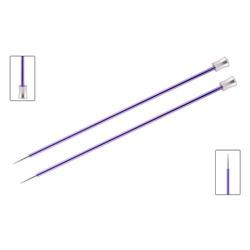 """Спицы Knit Pro прямые """"Zing"""" 7 мм/25 см, алюминий"""