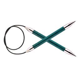 """Спицы Knit Pro круговые """"Royale"""" 10мм 100см, ламинированная береза"""
