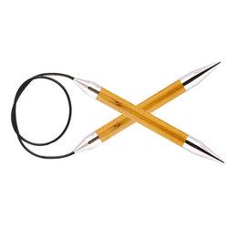 """Спицы Knit Pro круговые """"Royale"""" 12мм 100см, ламинированная береза"""