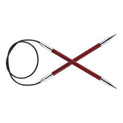 """Спицы Knit Pro круговые """"Royale"""" 5мм 100см, ламинированная береза"""