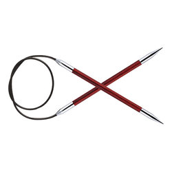"""Спицы Knit Pro круговые """"Royale"""" 5мм 40см, ламинированная береза"""
