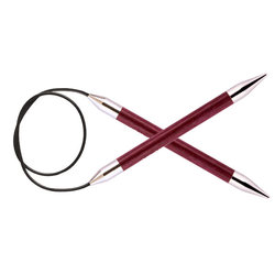 """Спицы Knit Pro круговые """"Royale"""" 9мм 100см, ламинированная береза"""