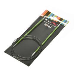 "Спицы Knit Pro круговые ""Zing"" 3,5мм/100см, алюминий"