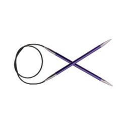 "Спицы Knit Pro круговые ""Zing"" 3,75мм/40см, алюминий"