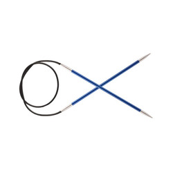 "Спицы Knit Pro круговые ""Zing"" 4мм/40см, алюминий"