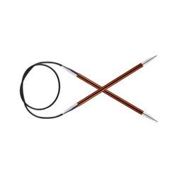 "Спицы Knit Pro круговые ""Zing"" 5,5мм/40см, алюминий"