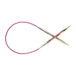 Спицы Knit Pro круговые Symfonie 2мм/40см, дерево, многоцветный