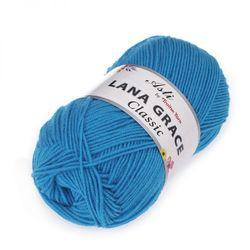 Пряжа Троицкая LANA GRACE Classic (25% мериносовая шерсть, 75% акрил супер софт) 5х100г/300м цв.0474 голубая бирюза