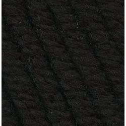 Пряжа Троицкая LANA GRACE Grande (25% мериносовая шерсть, 75% акрил супер софт) 5х100г/65м цв.0140 черный
