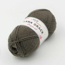 Пряжа Троицкая LANA GRACE Original (25% мериносовая шерсть, 75% акрил супер софт) 5х100г/300м цв.0214 маренго