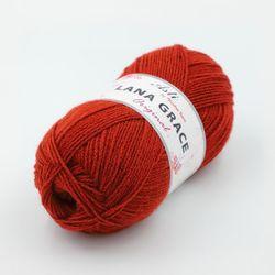 Пряжа Троицкая LANA GRACE Original (25% мериносовая шерсть, 75% акрил супер софт) 5х100г/300м цв.1840 чили