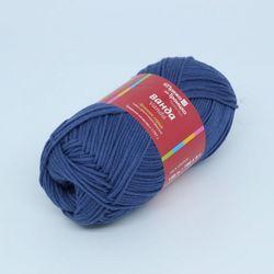 Пряжа Троицкая Ванда (100% хлопок) 5х100г/150м цв.1603 джинсовый
