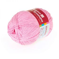 Пряжа Троицкая Жасмин (100% хлопок) 5х100г/280м цв.0165 розовый
