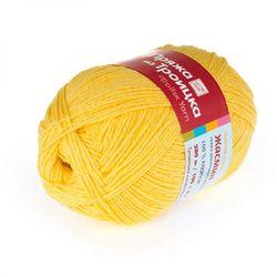 Пряжа Троицкая Жасмин (100% хлопок) 5х100г/280м цв.0594 желтый
