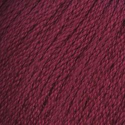 Пряжа Троицкая Крокус (100% мерсеризованный хлопок) 5х100г/160м цв.1421 винный