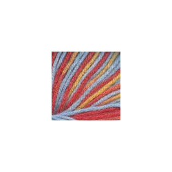 Пряжа Троицкая Кроха (20% шерсть, 80% акрил) 10х50г/135м цв.секционный 4028