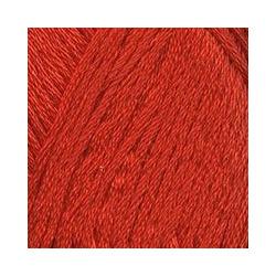 Пряжа Троицкая Ландыш (100% мерсеризованный хлопок) 10х50г/115м цв.1440 алый