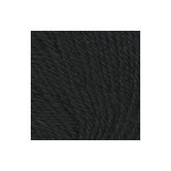 Пряжа Троицкая Люкс (100% шерсть) 10х50г/200м цв.0140 черный