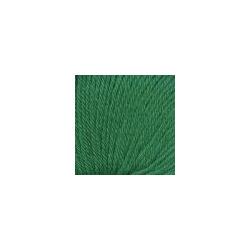 Пряжа Троицкая Люкс (100% шерсть) 10х50г/200м цв.0723 яркая зелень